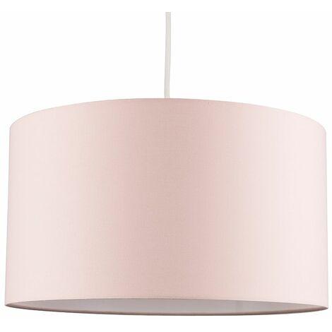 45cm Ceiling / Floor Light Shade Lampshade - Beige & Gold