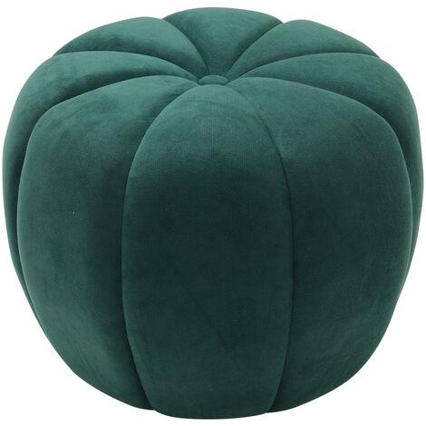 45CM Fabric Pumpkin Shape Footstool