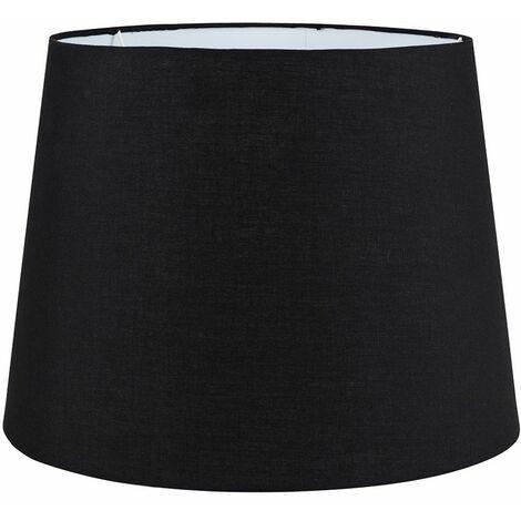 45cm Velvet Table / Floor Lamp Light Shade - Deep Purple