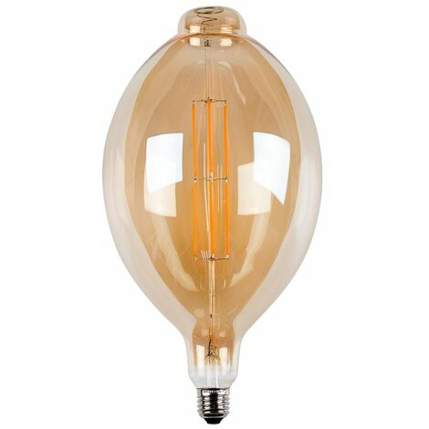 45Cm Vintage Dimmable LED Es E27 Amber Squirrel Light Bulb - 1800K Warm White