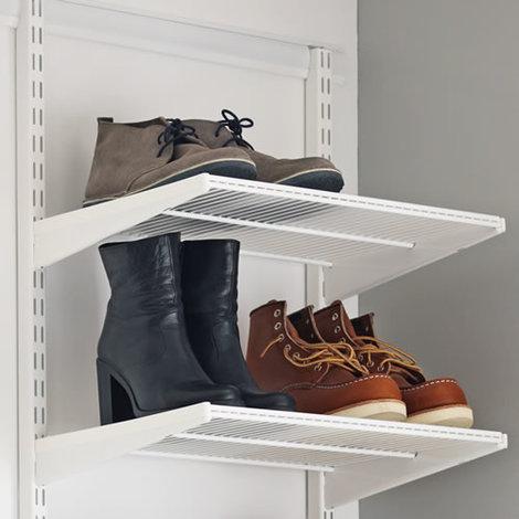 45cm x 40cm Elfa Ventilated Shelf (452718) - White