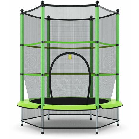 "main image of ""4.5FT Trampoline Safety Net Enclosure Children Kids Jumper Indoor Outdoor Play"""