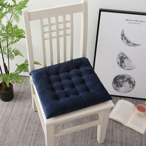 45x45cm Square cushion Blue lounge chair cushion