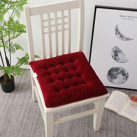 45x45cm Square cushion Red lounge chair cushion