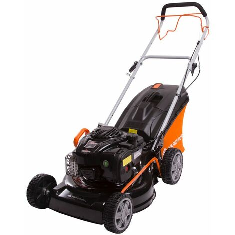 "46cm (18"") Self Propelled Rotary Petrol Lawnmower with 140cc Briggs & Stratton 450 Series Engine"