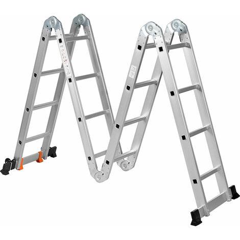 Draper 83997 2 Step Aluminium Working Platform Silver