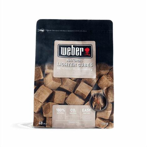 48 cubes allume feu naturels Weber
