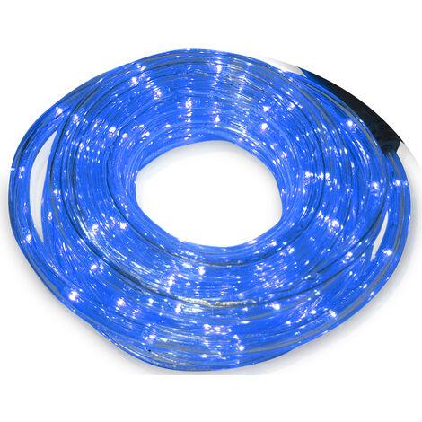 48 m. tubo Led flexible azul (F-Bright 00764)