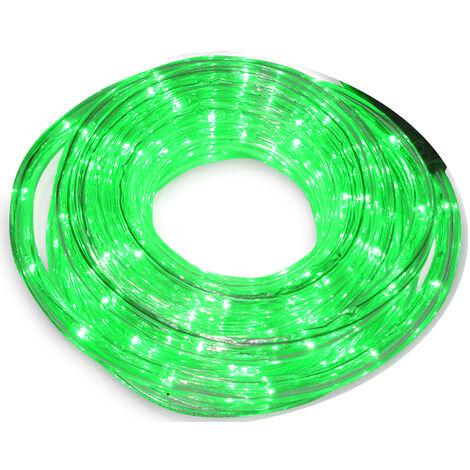 48 m. tubo Led flexible verde (F-Bright 00765)