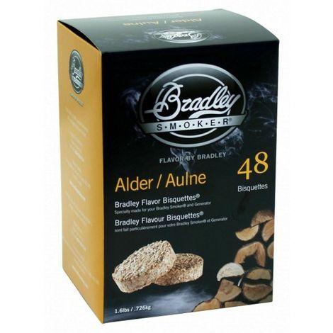 48 Pack Bradley Flavour Bisquettes - ALDER