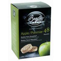 48 Pack Bradley Flavour Bisquettes - APPLE