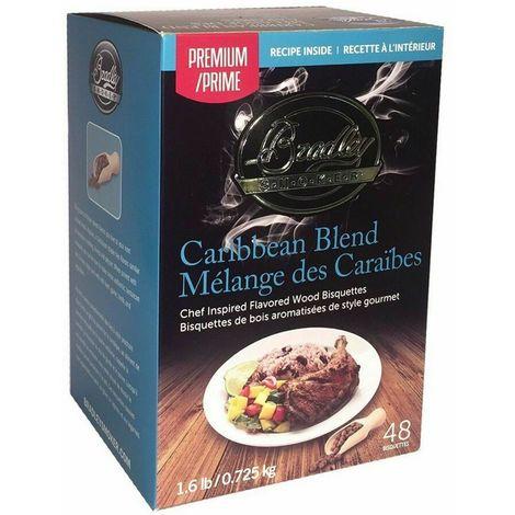 48 Pack Bradley Premium Bisquettes - CARIBBEAN BLEND