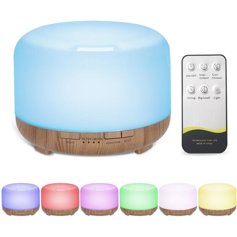 480ml ultrasonico umidificatore lampada con telecomando colorato effetto gradiente tempistica piccolo ing