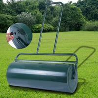48L FDS HEAVY DUTY METAL WATER / SAND FILLED GARDEN FOR GRASS / LAWN ROLLER