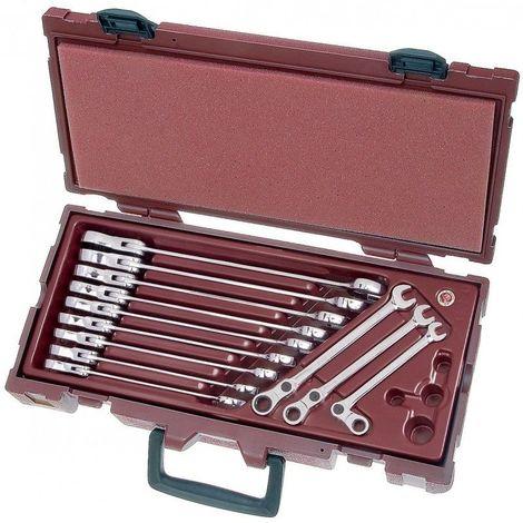 4900-41k. Coffret de clés combinées à cliquet 14 pièces KRAFTWERK 307.48