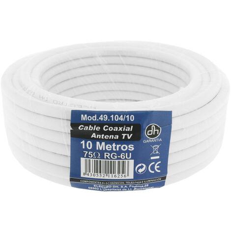 20m. rollo de cable coaxial TV (DH 49104/20)