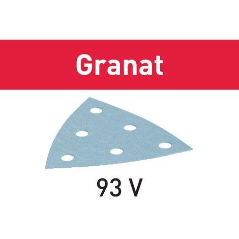 497390 Festool Sanding disc STF V93/6 P40 GR/50 Granat