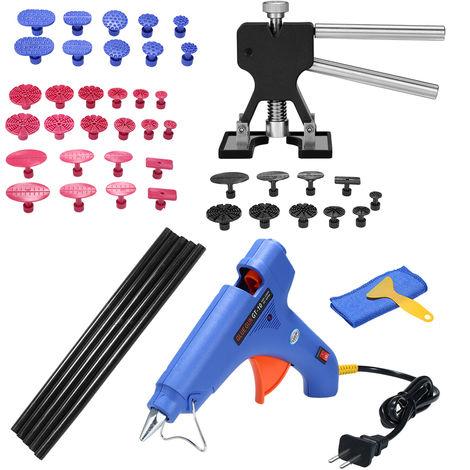 49pcs Car Paintless Dent Puller Dent Lifter, Kit de maquina herramienta de pegamento