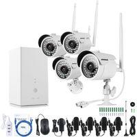 4CH 960HD WIFI IR Night Vision IP66 Weatherproof Surveillance System