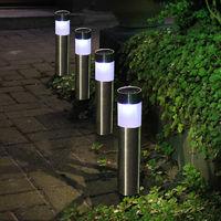 8 Stück im Set 8er Set Solarspieß Solar Gartenleuchte Dekoleuchte LED Erdspieß