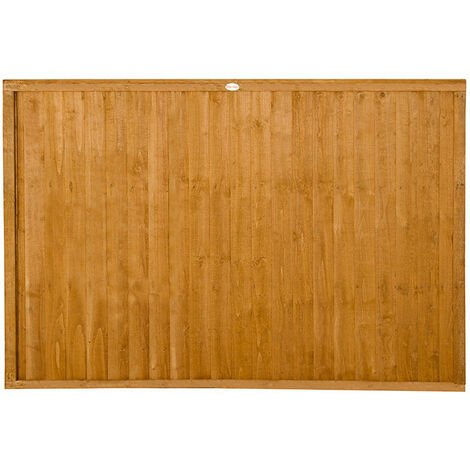 4ft High Forest Closeboard Fence Panel