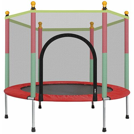 """main image of """"4FT Kids Trampoline Playing Jumping Bed Exercise Enclosure Pad 122*140cm"""""""