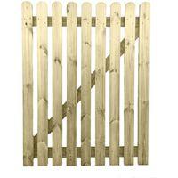 4ft x 3ft Wide Wooden Picket Garden Gate High Quality Wood Handmade In Devon