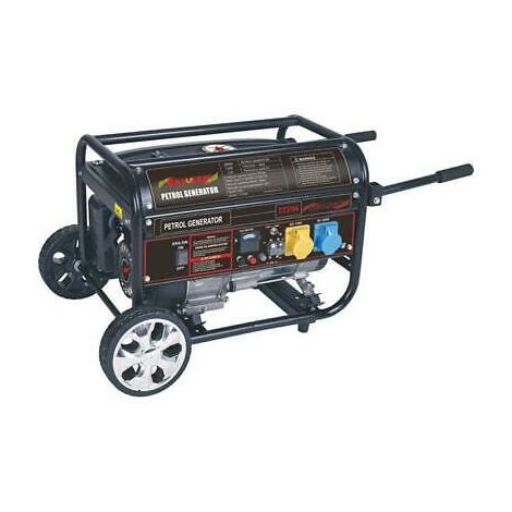 4KVA Four Stroke Petrol Generator 7.0HP AC Output 115V/230V