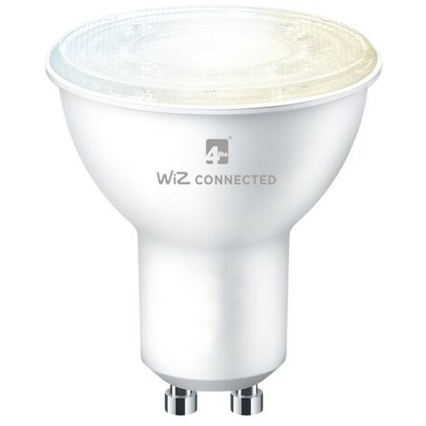4Lite WiZ Connected SMART LED WiFi & Bluetooth GU10 Bulb Tuneable White - 4L1-8042