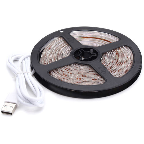 4M TV Strip Flexible Flexible Ribbon 2835 SMD 240LED USB waterproof IP65 DC5V deco Sasicare