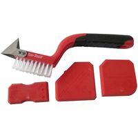 4pc Caulking Tool Kit Sealant Remover Sealant Smoother Sealant applicator
