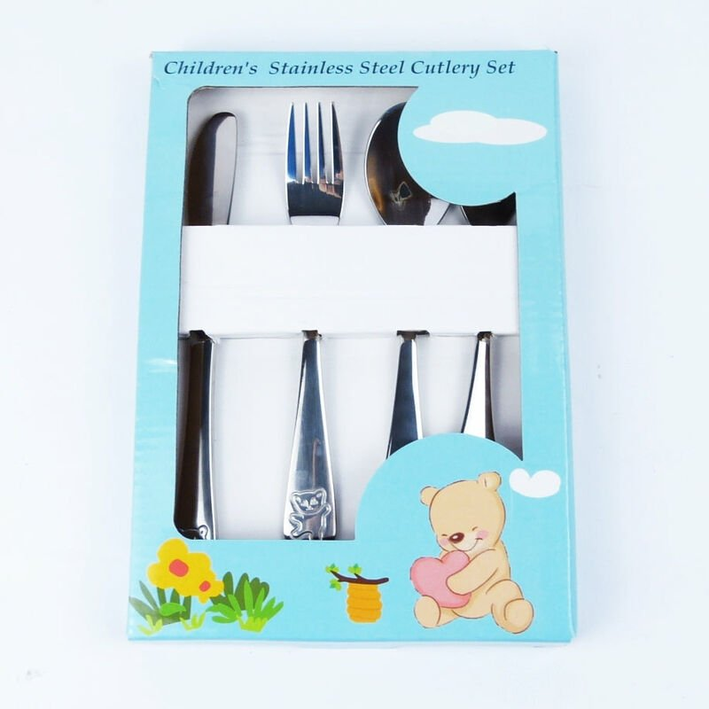 Image of 4pc Childrens Cutlery Set - HYFIVE