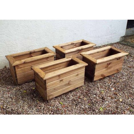 4pc Small Trough Set - Fully Assembled