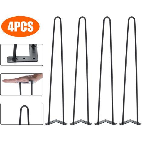 "4PCS 28 ""metal table legs 71cm"