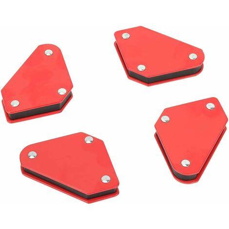 4pcs 9LB Angle de Soudure Locator Magnétique Aimant Coin Flèches Soudeur Soudure Soudure Outil de Support Pour Soudure Fixe