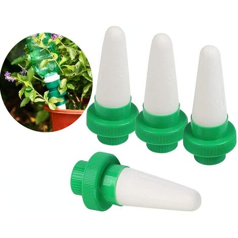 4Pcs Arrosage Plantes Automatique Irrigation Goutte à Goutte Dispositifs d'Arrosage des Plantes pour Jardin, Plante d'intérieur, Fleurs