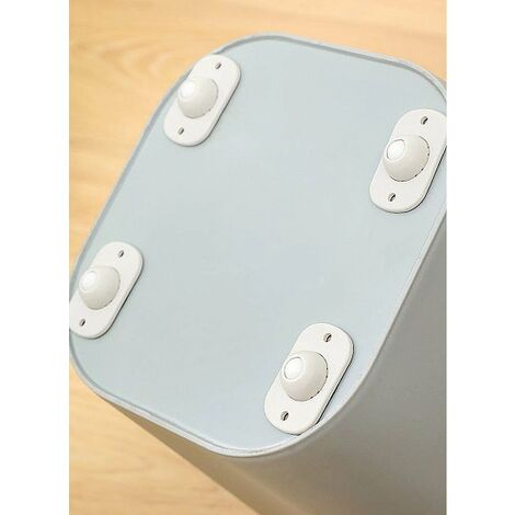 4pcs cute mini self adhesive plastic casters mini swivel casters box cutting movable cardboard accessories for storage boxes cardboard boxes small furniture