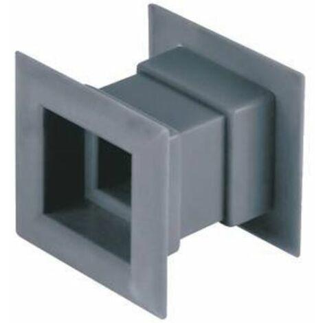 4pcs mini grille d'aération carré grille de porte ventilation interne couverture couleur satin