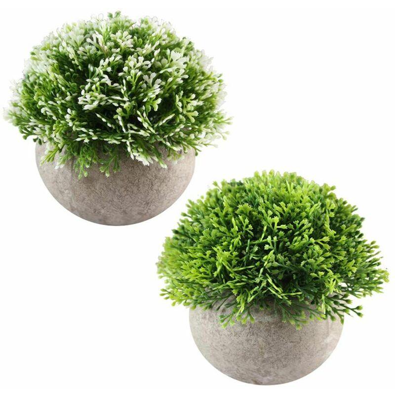 4pcs Mini Plante Succulente Artificielle Plante Bonsai Decoration Maison Jardin Cuisine Mariage Bureau Interieur Et Exterieur 7042421129789
