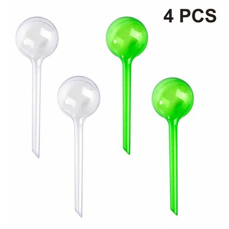 4pcs Plastic ball automatic watering device, lazy watering device, travel drip, suitable for potted plants