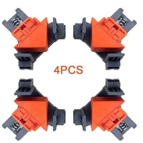 4Pcs Ressort Serre-Joints Multifonctions Clip Conseils Bricolage Ensemble D'Outils Pour La Photographie En Studio Plaque Bricolage Retro-Eclairage Du Bois