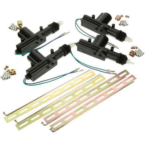 4pcs Universal Car Truck Auto Alarm System Door Lock Motor Actuator 2 Wire Motor