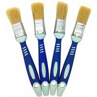 Fiorellini serie 168 pennello professionale manico legno per smalto impregnante pittura base acqua 30mm
