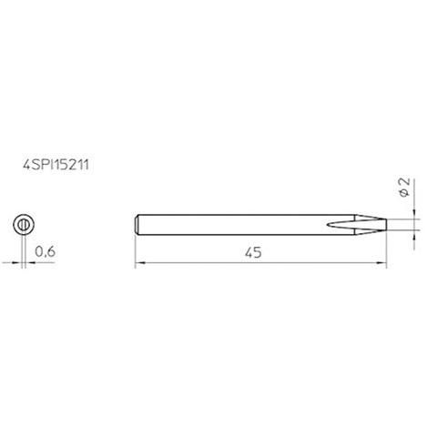 4SPI15210-1 WELLER ROHS