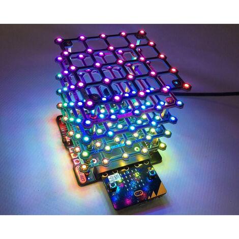 4tronix Cube:Bit 5x5x5 Addressable RGB LEDs