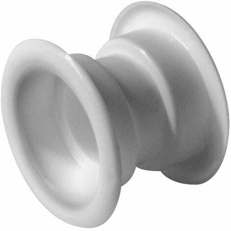 4x Blanc Mini Collier Cercle Évent Grille Ensemble Porte Ventilation Couverture