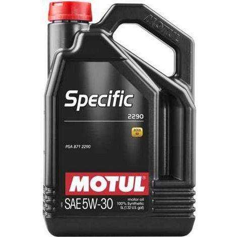 4x Huile Motul specific 2290 5W30 bidon de 5L