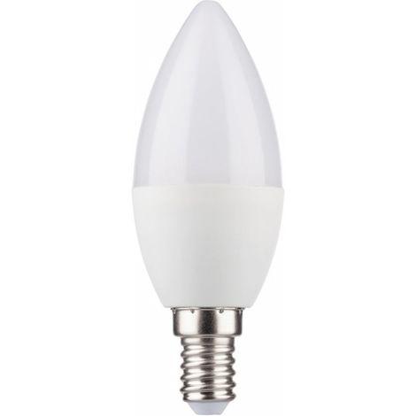 4x LED Bombilla eléctrica 5,5W E14 470lm