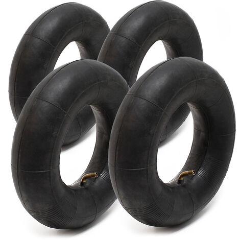 4x Luftschlauch Kleinreifen 3.00/3.50-4 TR87 Ventil Reifenschlauch Schlauch Reifen
