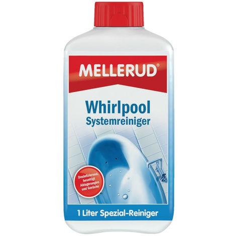 4x Mellerud Whirlpool Systemreiniger 1L